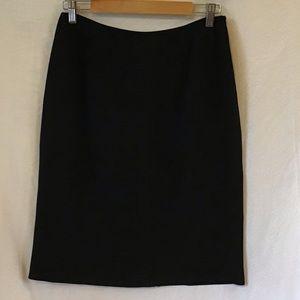 Jones NY black midi-skirt, size 10, fully lined